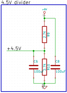 Tremolo Voltage Divider