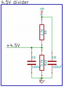 Tremolo Voltage Divider